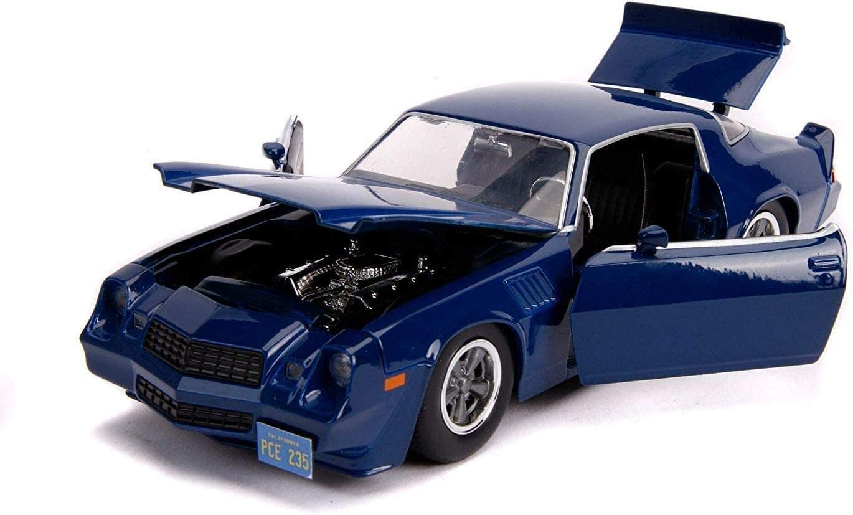 Carro Chevy Camaro Z28 ''Billy'': Stranger Things (Die Cast Figure) Escala 1/32 - Jada Toys