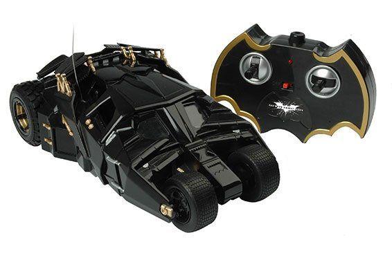 Carro com Controle Remoto Batmobile (Batmóvel): Batman: O Cavaleiro das Trevas Ressurge 1/18 - Candide