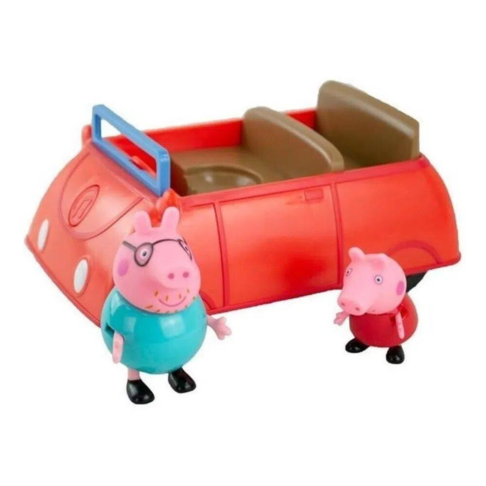 Carro Da Família Pig: Peppa Pig - Sunny