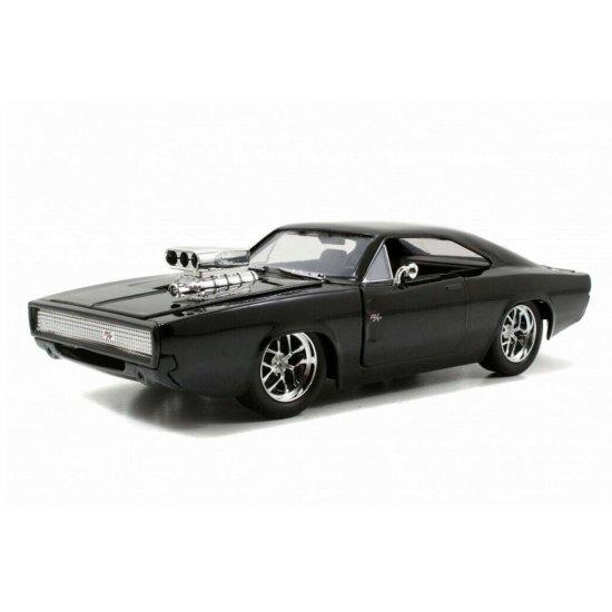 Carro Dodge Charger R/T ''Dom's'': Velozes e Furiosos (Die Cast Figure) Escala 1/24 - Jada Toys