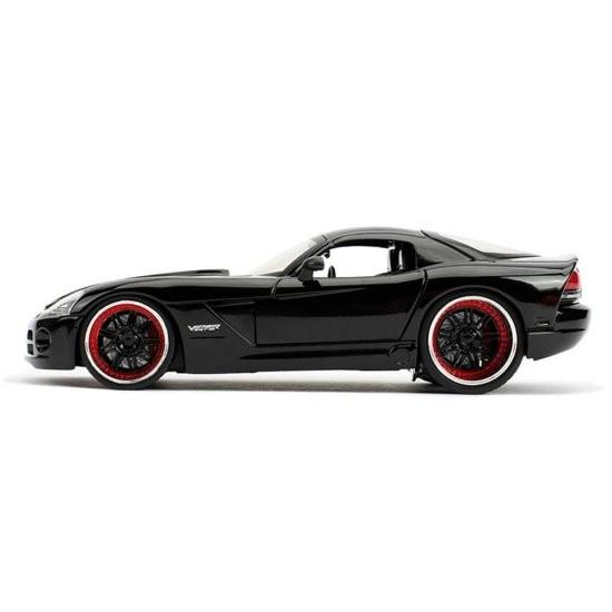 "Carro Dodge Viper SRT 10""Letty's"": Velozes e Furiosos (Die Cast Figure) Escala 1/24 - Jada Toys"