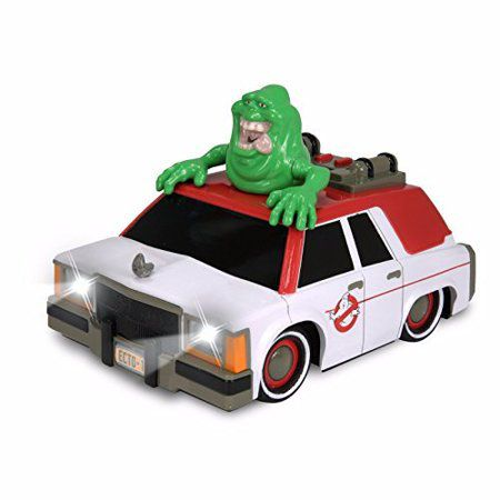 Carro ECTO-1 (With Glowing Slimer): Ghostbusters (Luzes E Som)