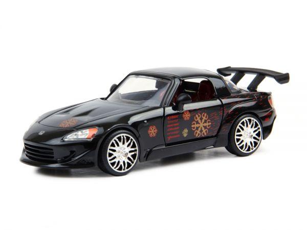 Carro Honda S2000 ''Johnny's'': Velozes e Furiosos (Die Cast Figure) Escala 1/24 - Jada Toys