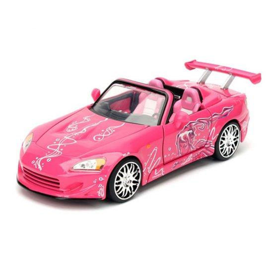 Carro Honda S2000 ''Suki's'': Velozes e Furiosos (Die Cast Figure) Escala 1/24 - Jada Toys