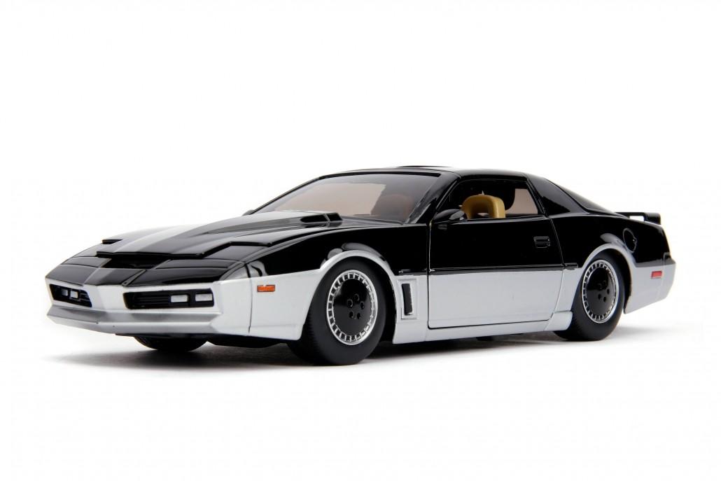 Carro K.A.R.R. 1982 Pontiac Firebird: Super Maquina ''Knight Rider'' (Die Cast Figure) Escala 1/24 - Jada Toys