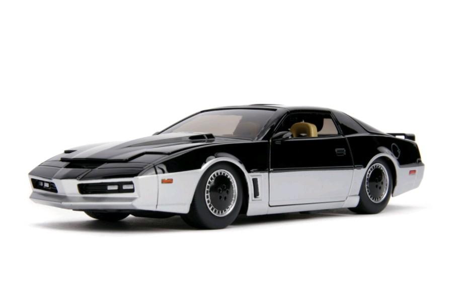 Carro K.A.R.R. 1982 Pontiac Firebird: Super Maquina ''Knight Rider'' (Die Cast Figure) Escala 1/32 - Jada Toys