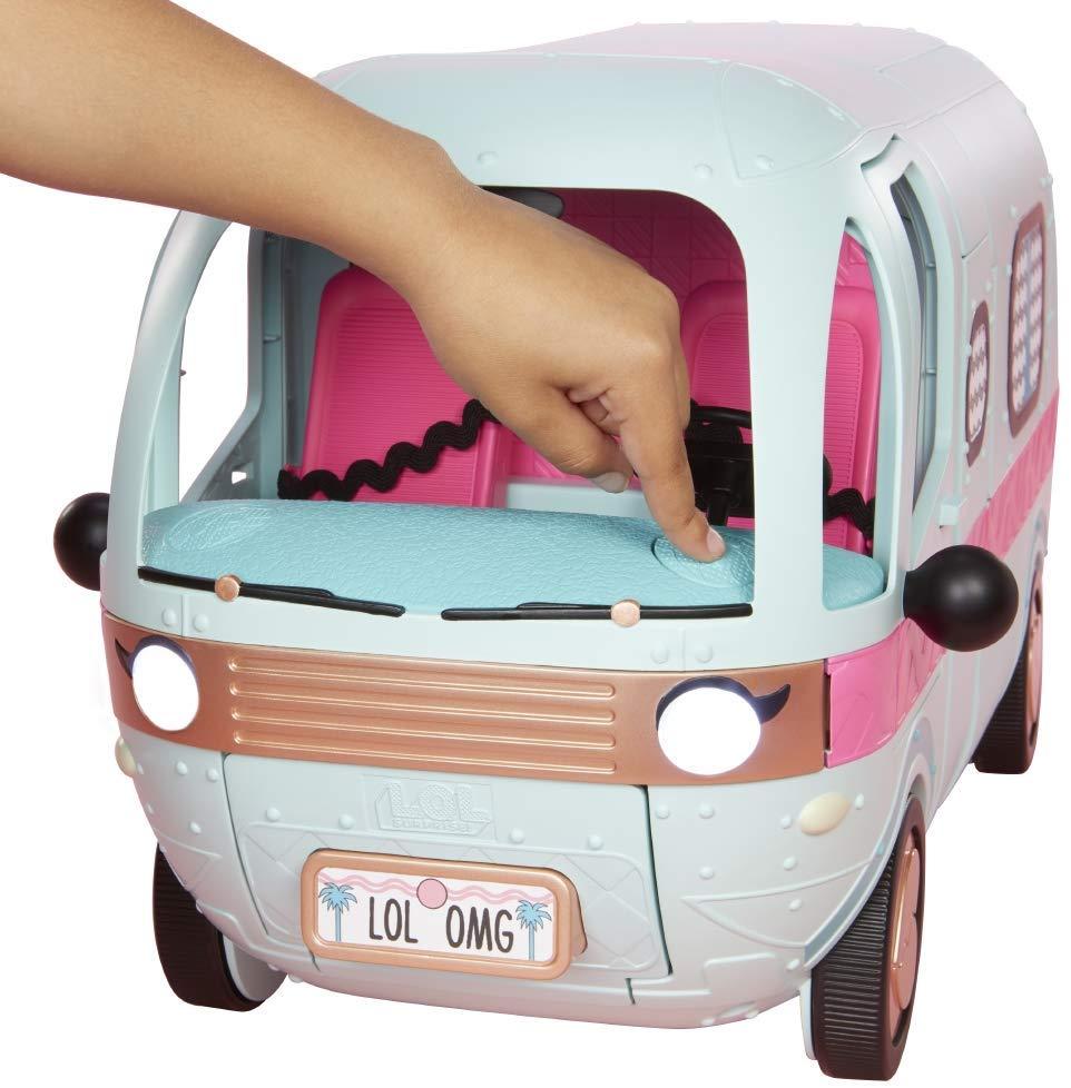 Carro LOL Surprise: Caravana 2 em 1 (Luzes e Som) - Candide