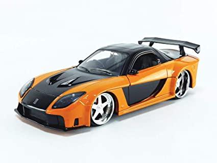 Carro Mazda RX-7 ''Han's'': Velozes e Furiosos (Die Cast Figure) Escala 1/24 - Jada Toys