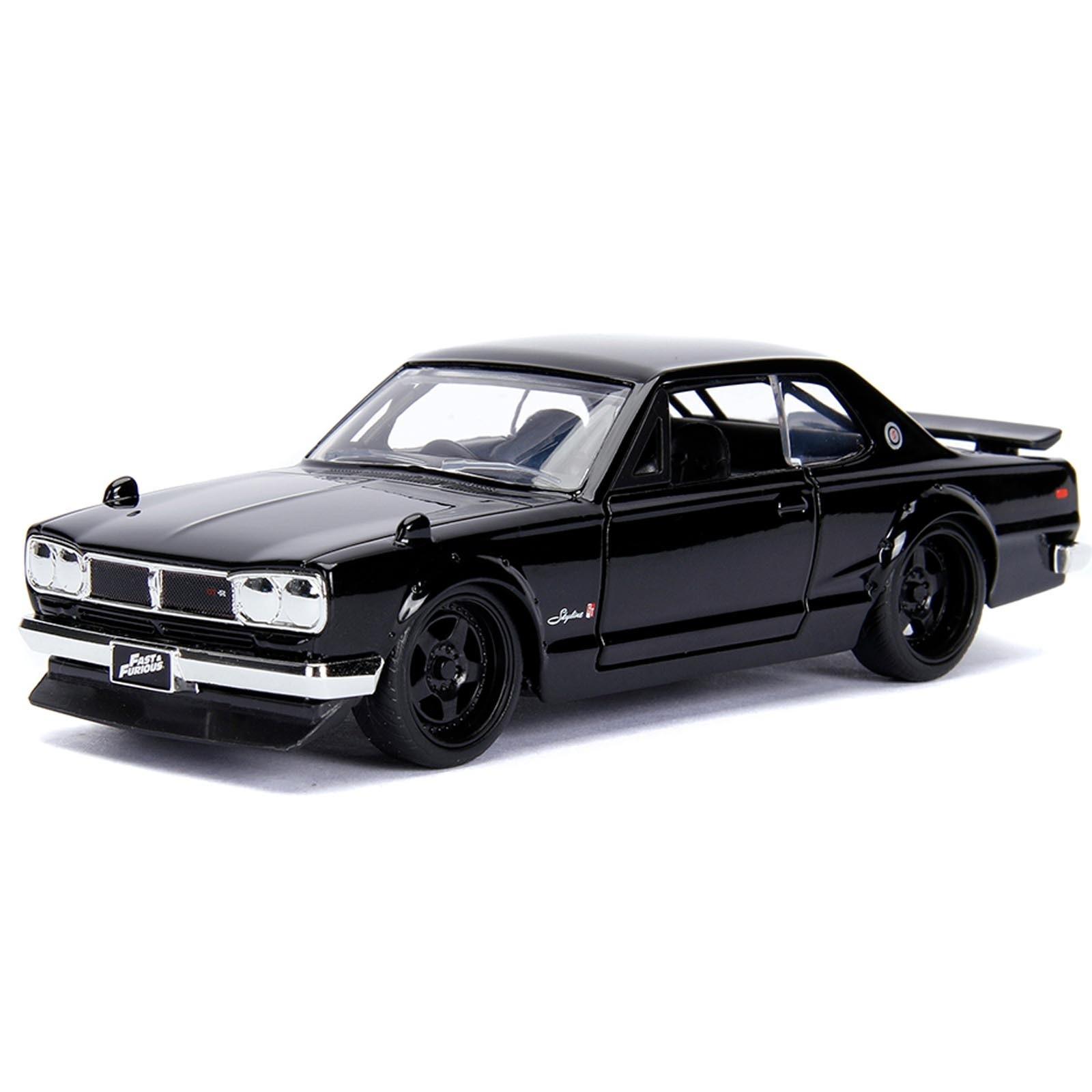 Carro Nissan Skyline Z000 GT-R (KPGC10) ''Brian's'': Velozes e Furiosos (Die Cast Figure) Escala 1/24 - Jada Toys