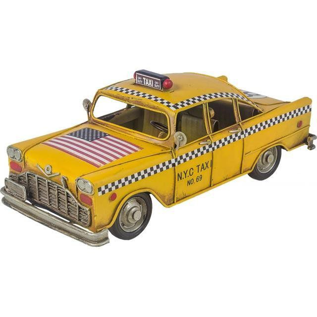 Carro Taxi EUA Yellow Cup - Oldway