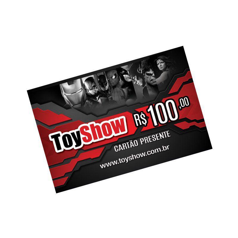 Cartão Presente Gift Card Toyshow