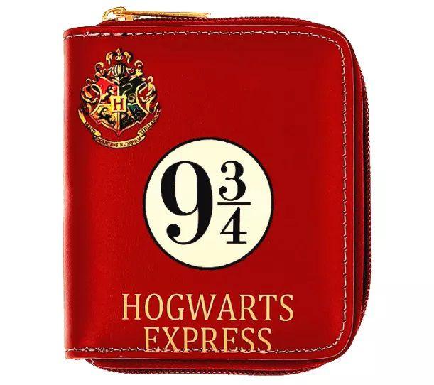 Carteira 9 3/4: Harry Potter - Com Zíper