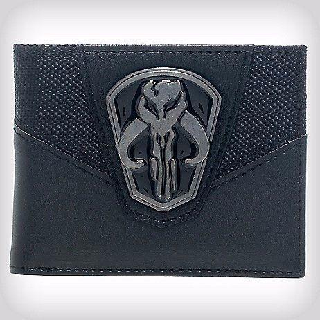 Carteira: Boba Fett Logo em Metal