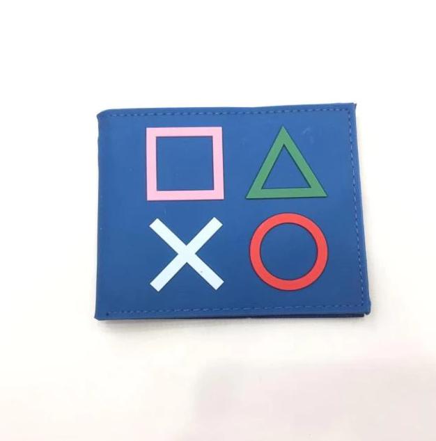 Carteira Botões Playstation: Sony (Azul) (Borracha) - EVALI