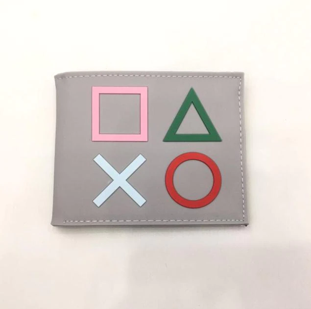 Carteira Botões Playstation: Sony (Cinza) (Borracha) - EVALI
