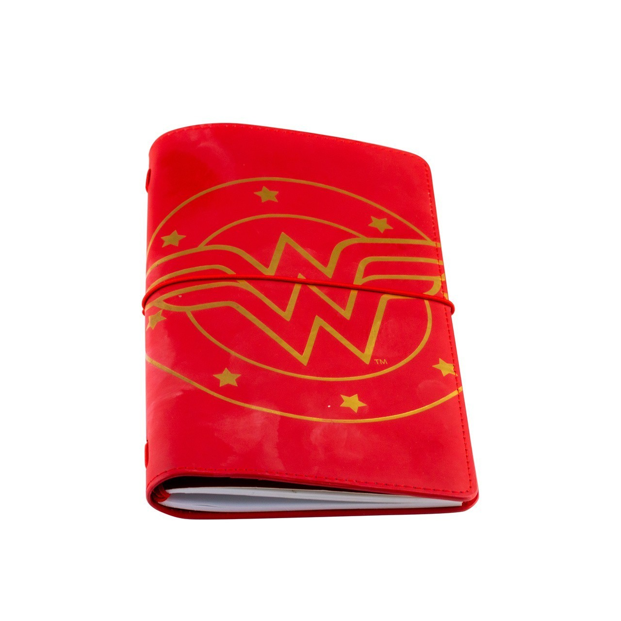 Carteira Com Caderneta Vermelha: Mulher Maravilha DC Comics - Urban