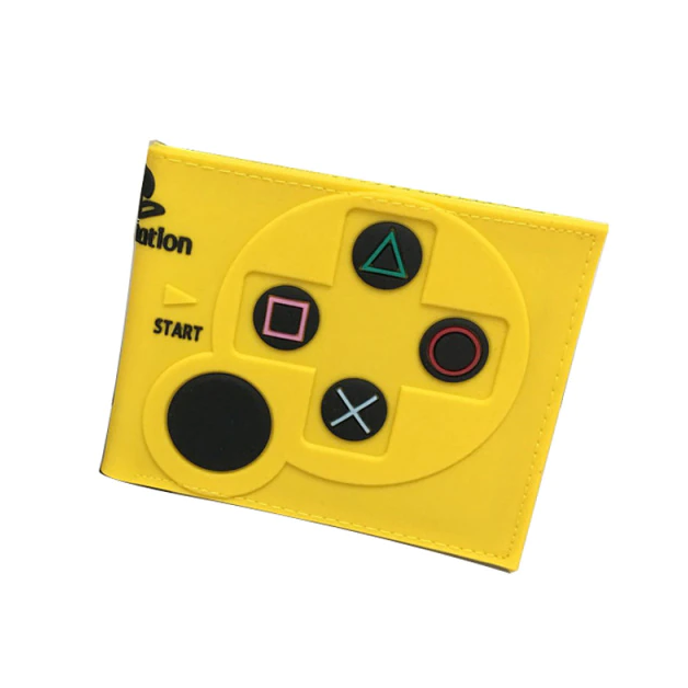 Carteira Controle Playstation 2: Sony (Amarela) (Borracha) - EVALI