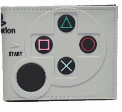Carteira Controle Playstation 2: Sony (Cinza) (Borracha) - MKP