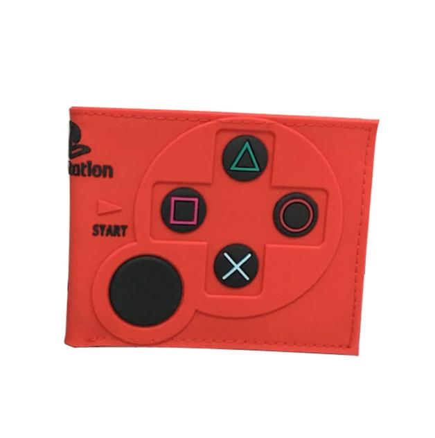 Carteira Controle Playstation 2: Sony (Vermelha) (Borracha) - EVALI