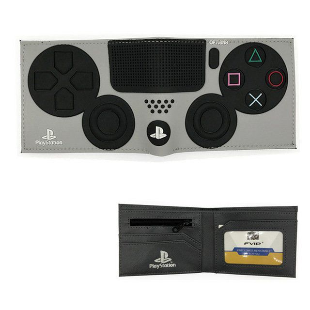 Carteira Controle Playstation 4: Sony (Cinza)
