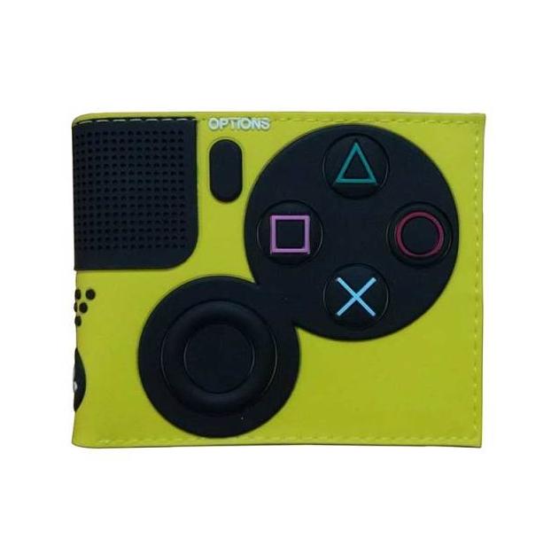 Carteira Controle Playstation 4: Sony (Verde Limão) (Borracha) - EVALI