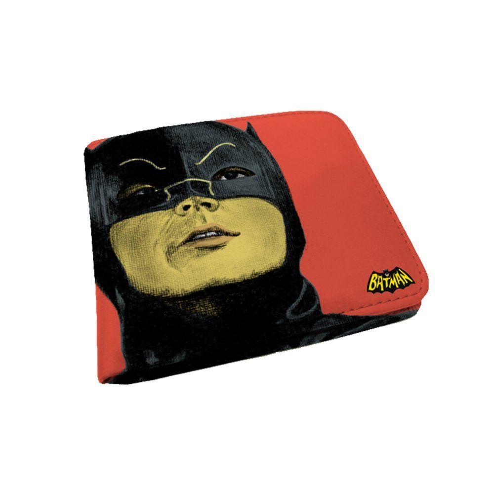 Carteira Dc Comics batman vermelha - Urban