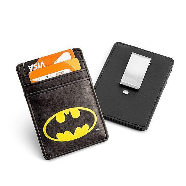 Carteira de Cartão com Clip para Dinheiro Batman: Liga da Justiça (Justice League)