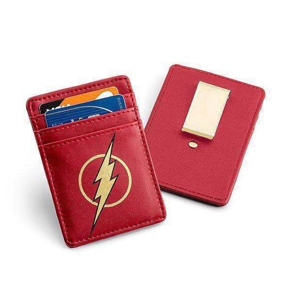 Carteira de Cartão com Clip para Dinheiro Flash: Liga da Justiça (Justice League)