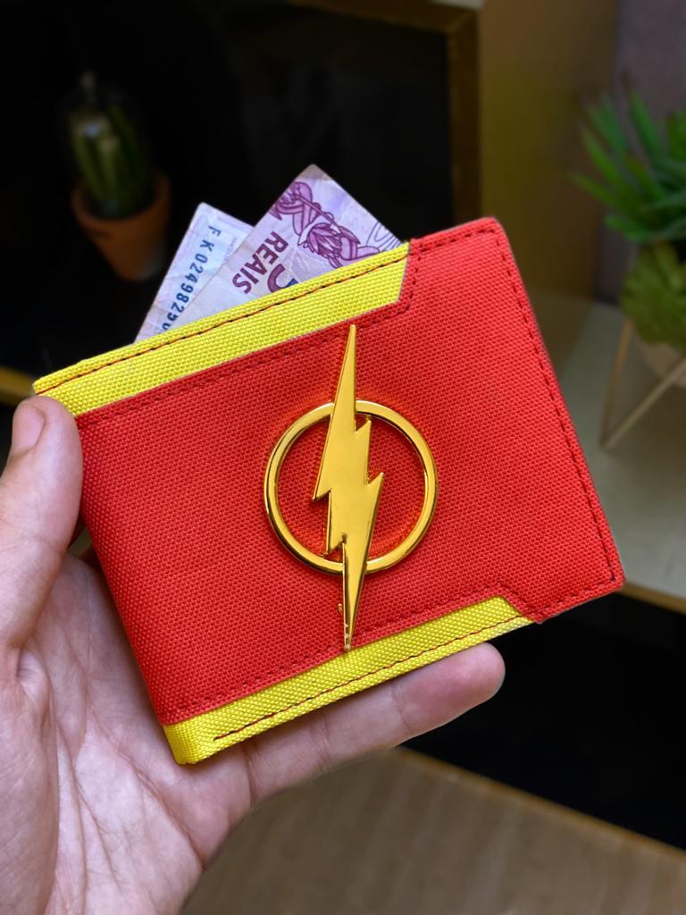 Carteira Emblema The Flash - DC Comics
