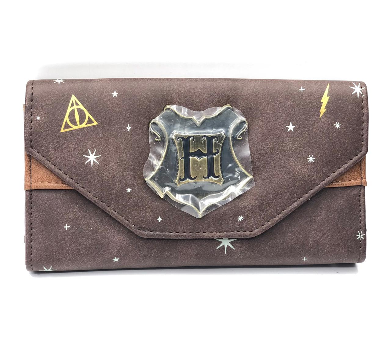 Carteira Estrelas e Símbolos: Harry Potter