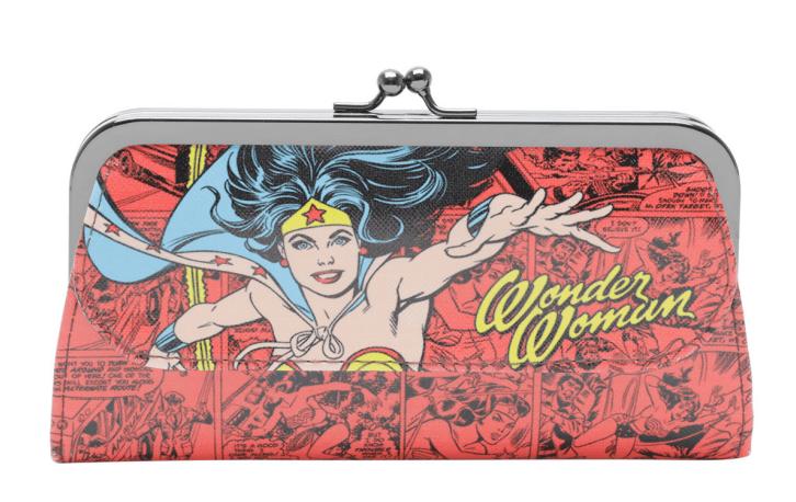 Carteira Feminina Wonder Woman (Mulher Maravilha) Quadrinhos
