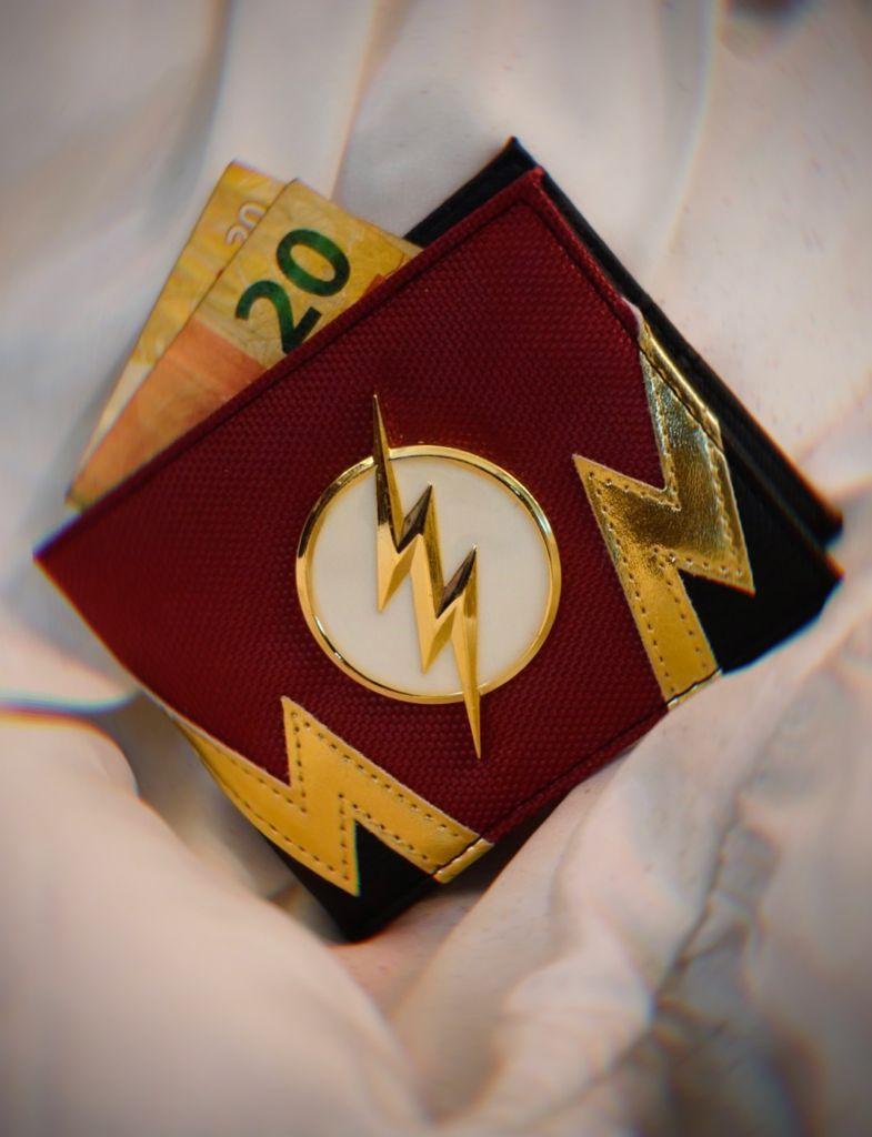 Carteira Flash: The Flash DC Comics