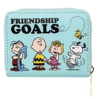 Carteira Friendship Goals: Snoopy Charlie Brown Peanuts
