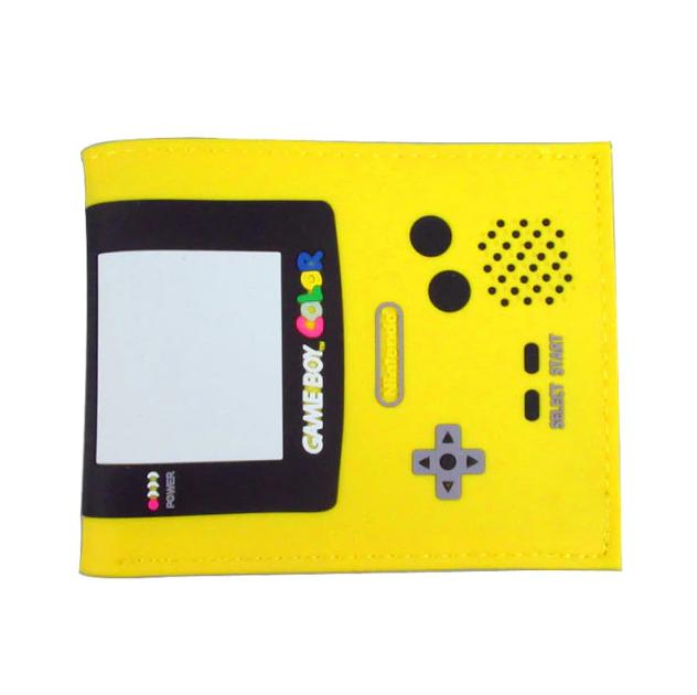 Carteira Game Boy Color: Nintendo (Amarela) (Borracha) - MKP