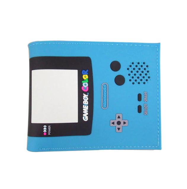Carteira Game Boy Color: Nintendo (Azul claro) (Borracha) - MKP