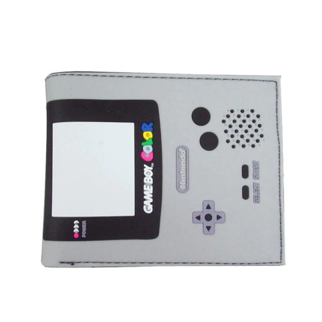 Carteira Game Boy Color: Nintendo (Cinza) (Borracha) - EVALI
