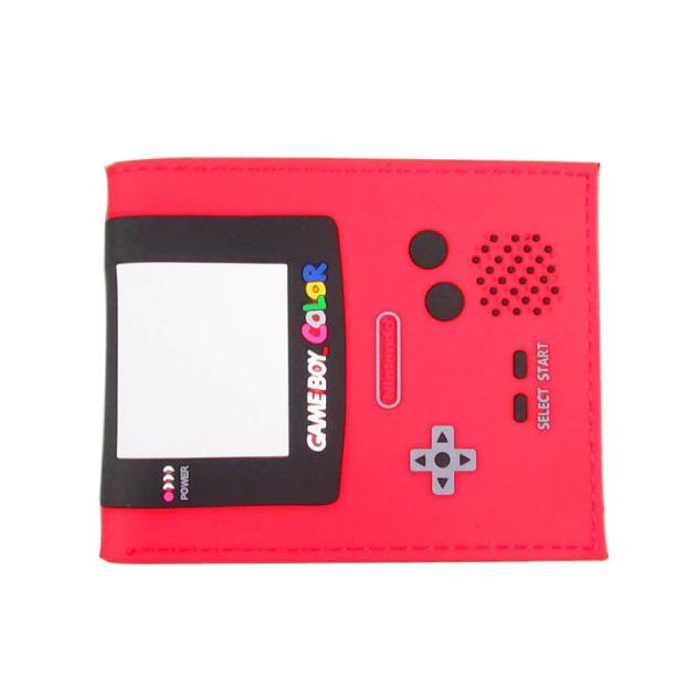 Carteira Game Boy Color: Nintendo (Rosa) (Borracha) - EVALI