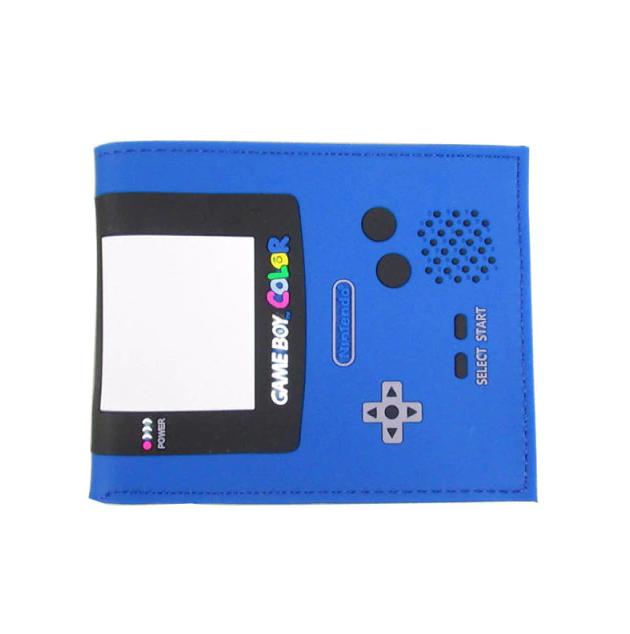 Carteira Game Boy: Nintendo (Azul Escuro) (Borracha) - MKP