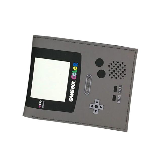 Carteira Game Boy: Nintendo (Cinza Escuro) (Borracha) - MKP