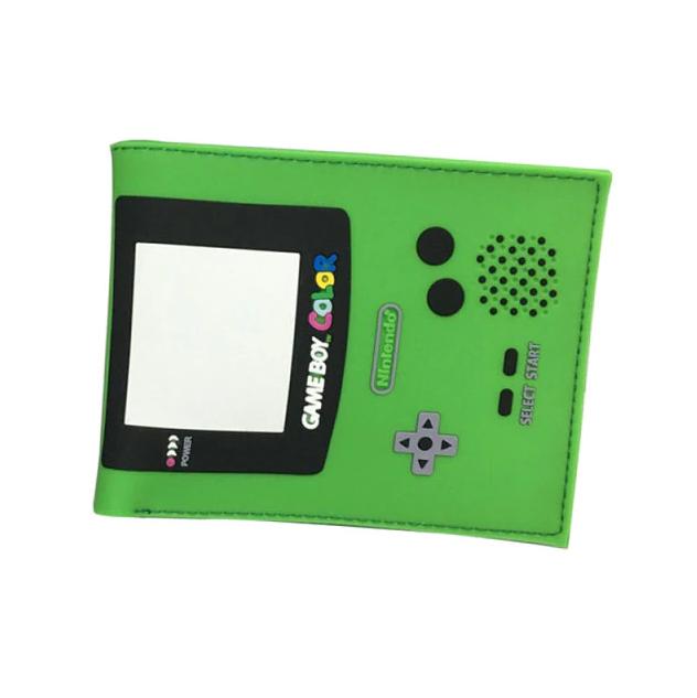 Carteira Game Boy: Nintendo (Verde) (Borracha) - MKP