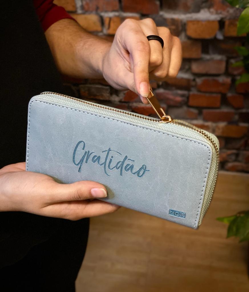 Carteira Gratidão Verde