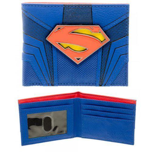 Carteira Logo Super-Homem (Superman): DC Comics