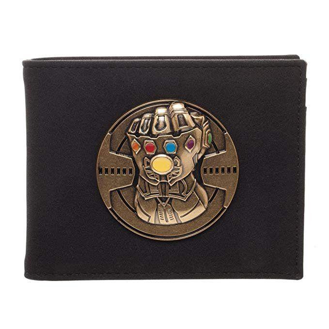 Carteira Manopla do Infinito Thanos (Infinity Gauntlet): Vingadores Guerra Infinita (Avengers Infinity War)