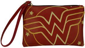 Carteira: Mulher-Maravilha: (Wonder Woman): Logo Vermelho DC Comics - Urban