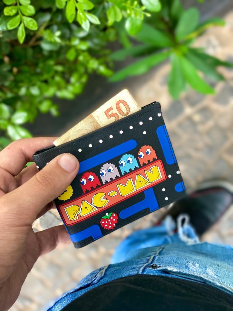 Carteira Pac Man