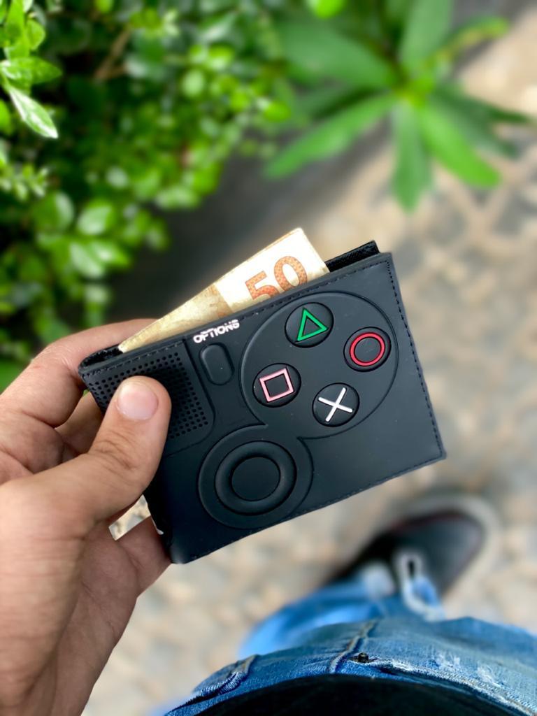 Carteira Botoes Controle Playstation