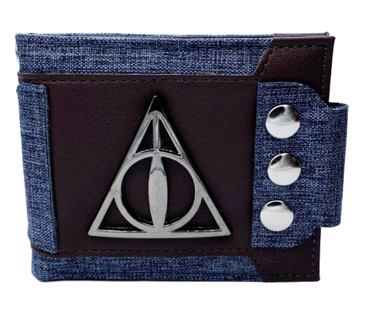Carteira Relíquias da Morte: Harry Potter
