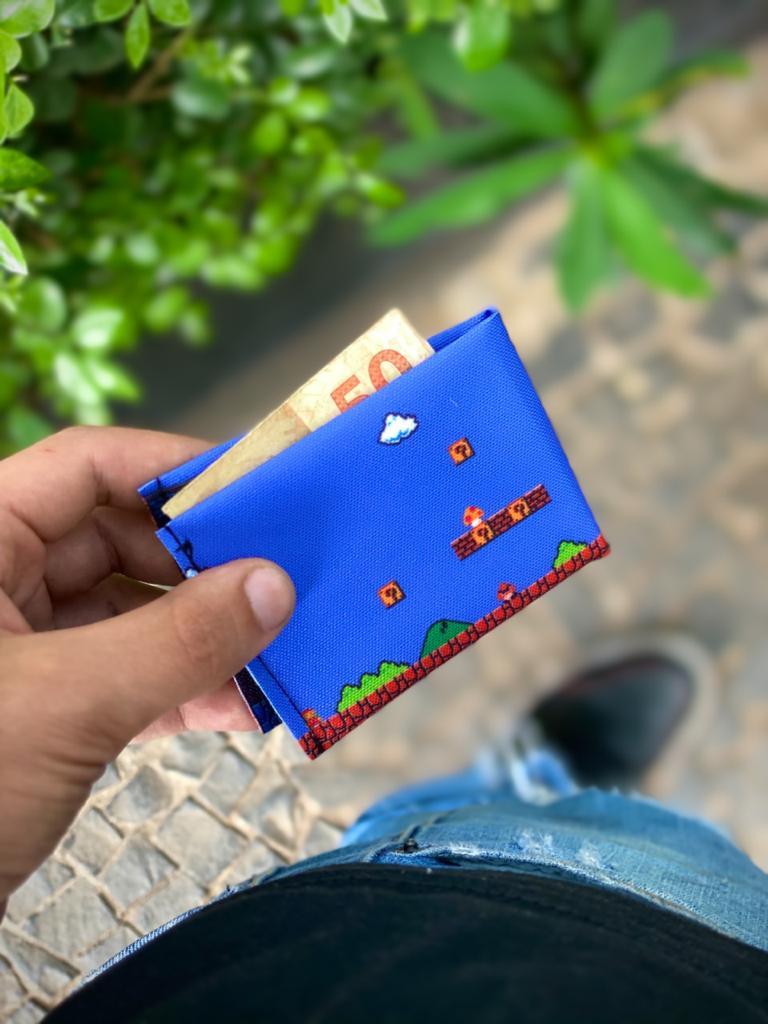 Carteira Slim Super Mario Bros.