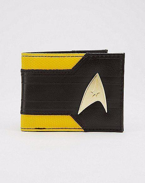 Carteira: Star Trek Logo em Metal