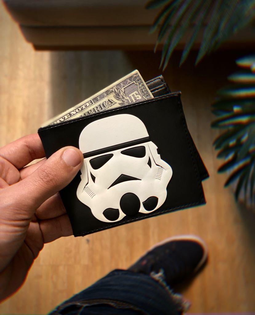 Carteira Stormtrooper: Battlefront Weekly Star Wars Guerra Nas Estrelas Disney